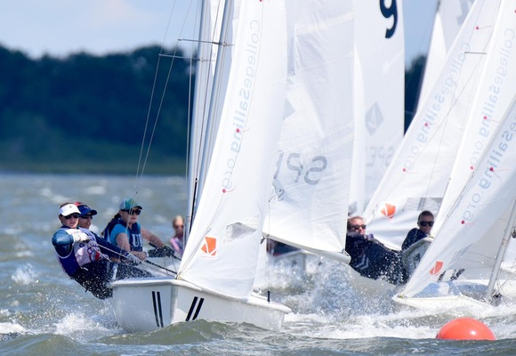 Women's Sailing 3rd after Day One of National Championship