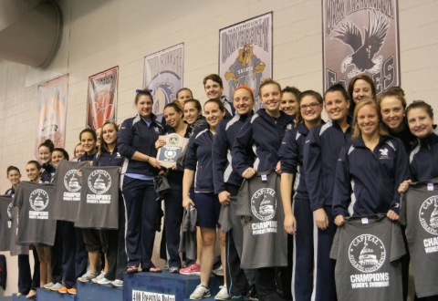 UMW Women's Swimming Gains 22nd Consecutive CAC Championship