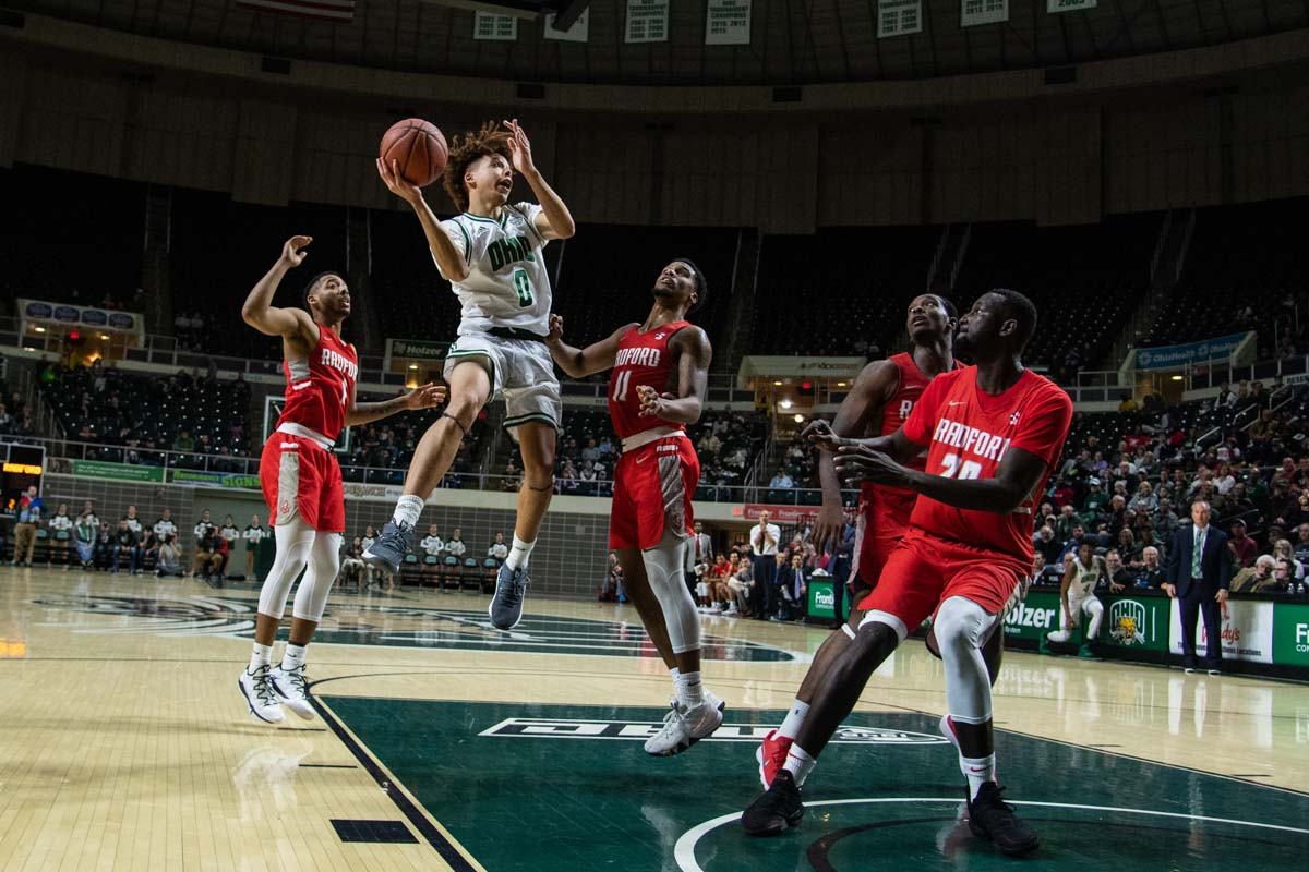 Ohio Men's Basketball Heads to Michigan for Battle with Detroit Mercy