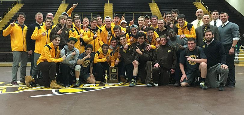 Wrestling Wins OAC Title and Sets School-Record For Wins