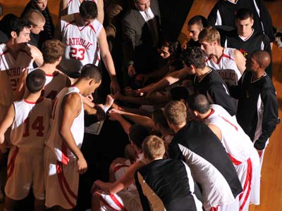 CUA meets Scranton Saturday with tournament bid on the line