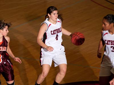 Strong team effort leads CUA past Scranton 68-63