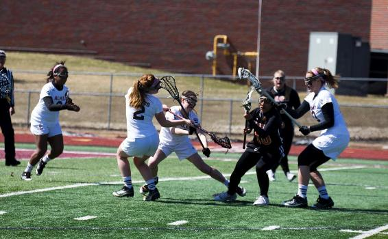 Scots Women's Lacrosse surge past Kalamazoo 12-8 at Saturday