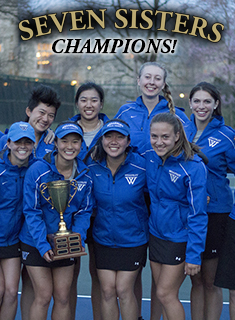 WELLESLEY TENNIS WINS 2014 SEVEN SISTERS CHAMPIONSHIP