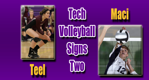 Tech volleyball inks two more to 2011 roster