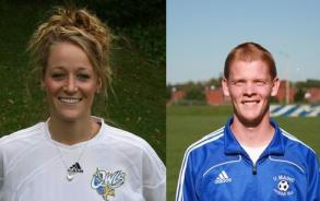 Herring and Bartlett Named AD3I Student-Athletes of the Month