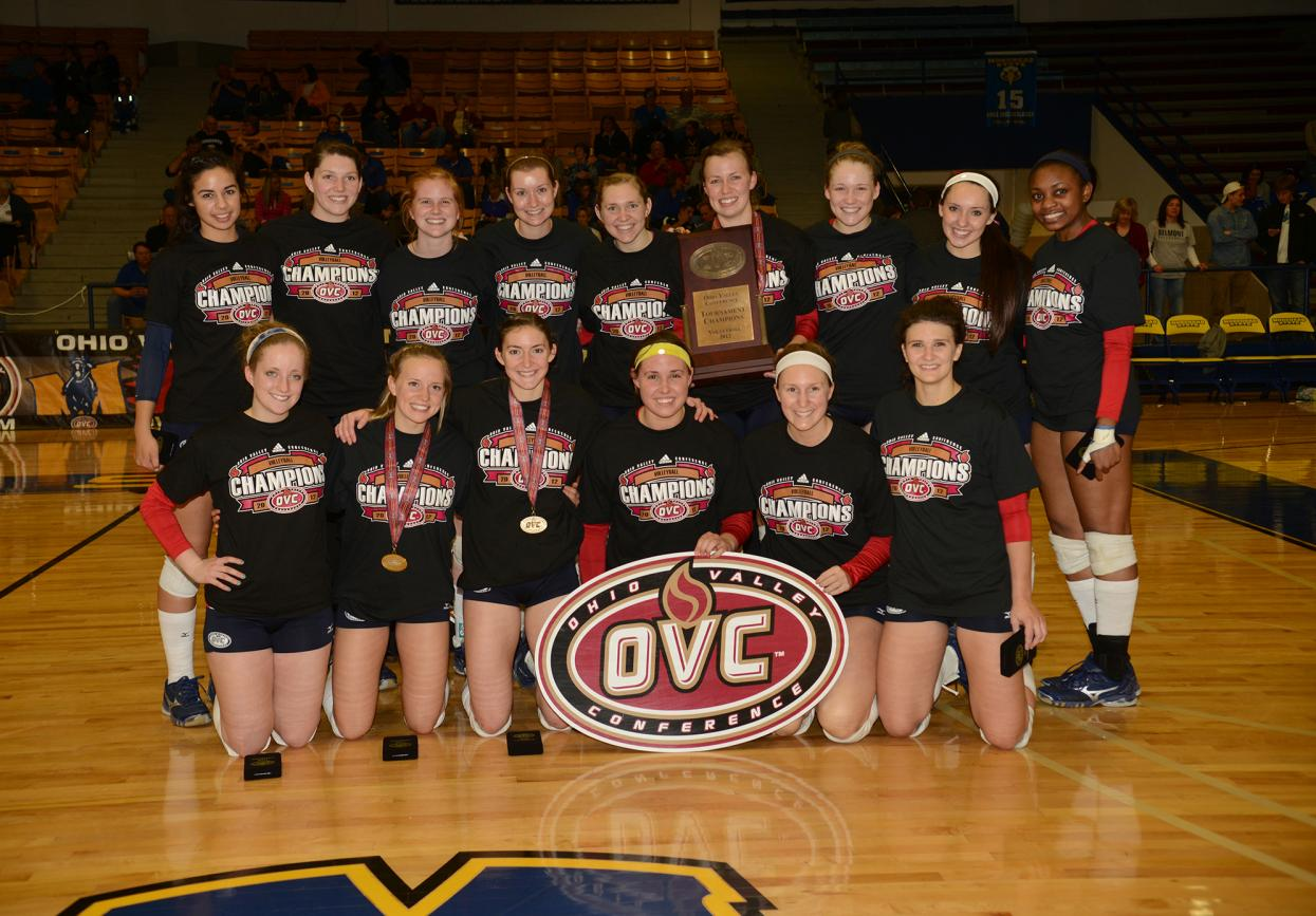 Volleyball Wins OVC Championship Title, Advances to NCAA Tournament