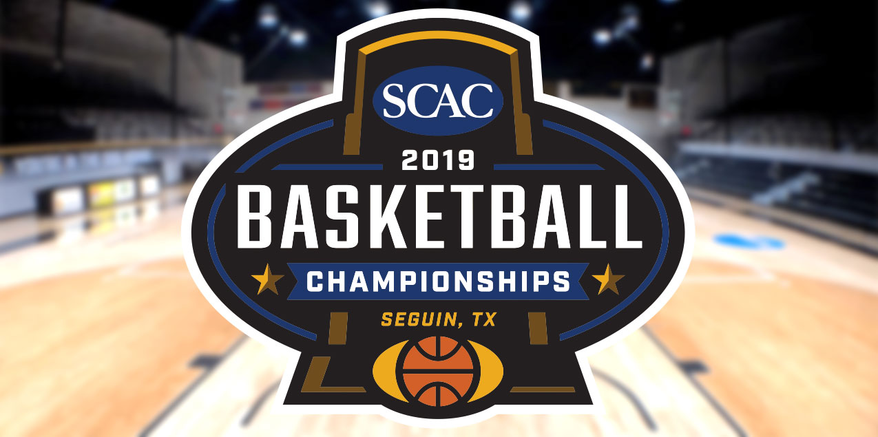 SCAC Announces 2019 Men's and Women's Basketball Tournament Brackets