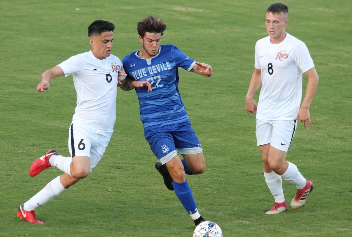 Blue Devils Fall by a Score of 4-0 to No. 5 Rio Grande University RedsStorm