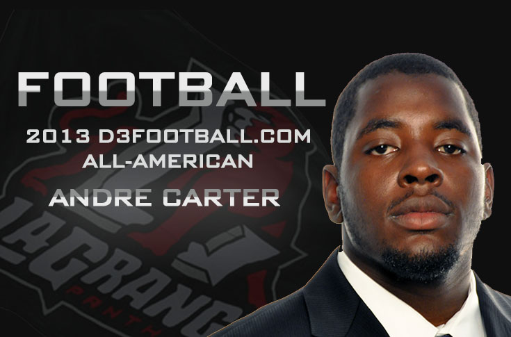 Football: Carter earns All-American honors for second straight year