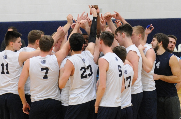 Men's Volleyball: Raiders fall in five set thriller at NCAA First Round