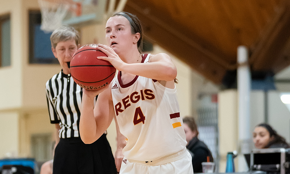 Women's Basketball Overcomes Halftime Deficit to Secure GNAC Win