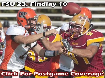 Ferris Football vs. Findlay Postgame Coverage