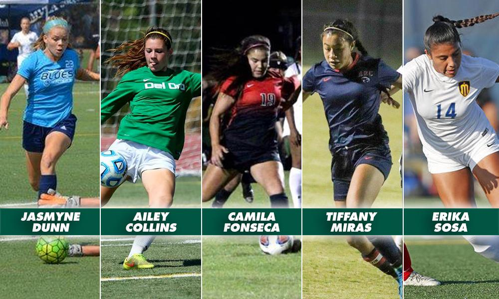 WOMEN'S SOCCER SIGNS FIVE TO NATIONAL LETTERS OF INTENT