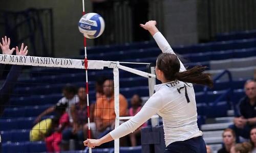 UMW Volleyball Tops Wesley, 3-0, to Improve to 4-2 in CAC Action