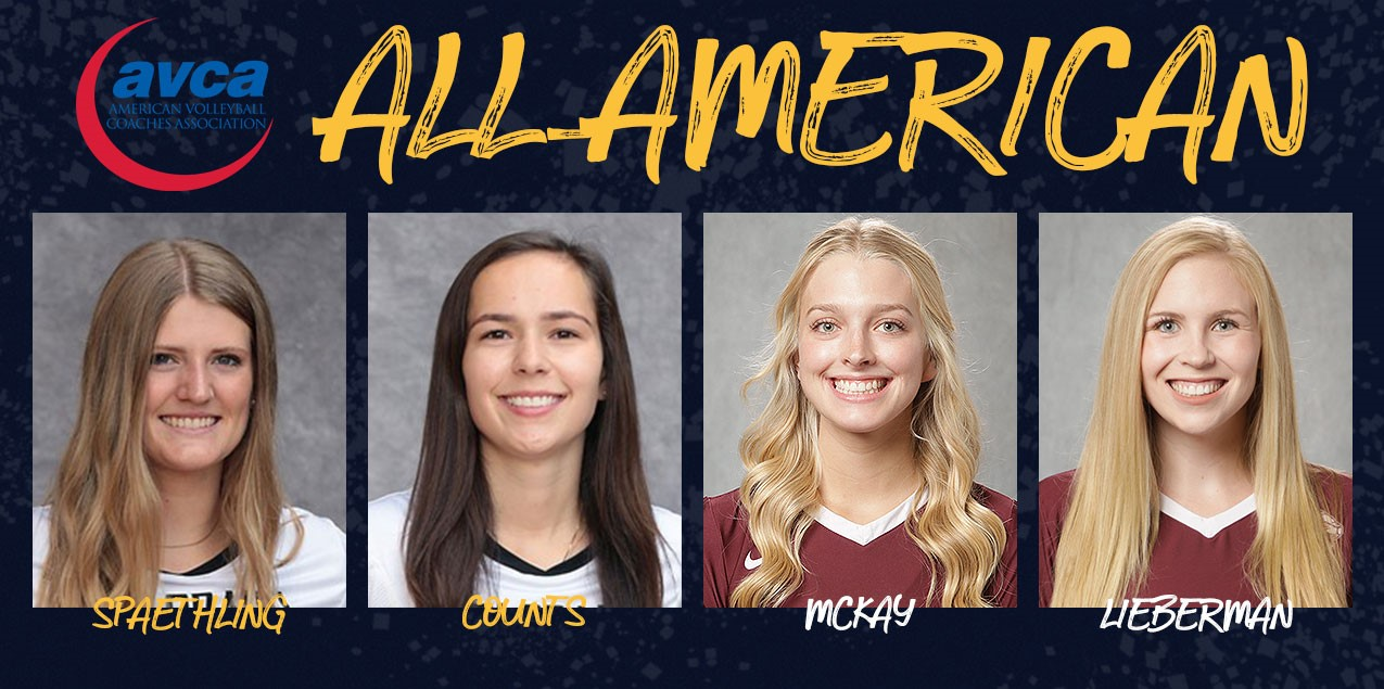 Four SCAC Volleyball Players Earn AVCA All-America Recognition