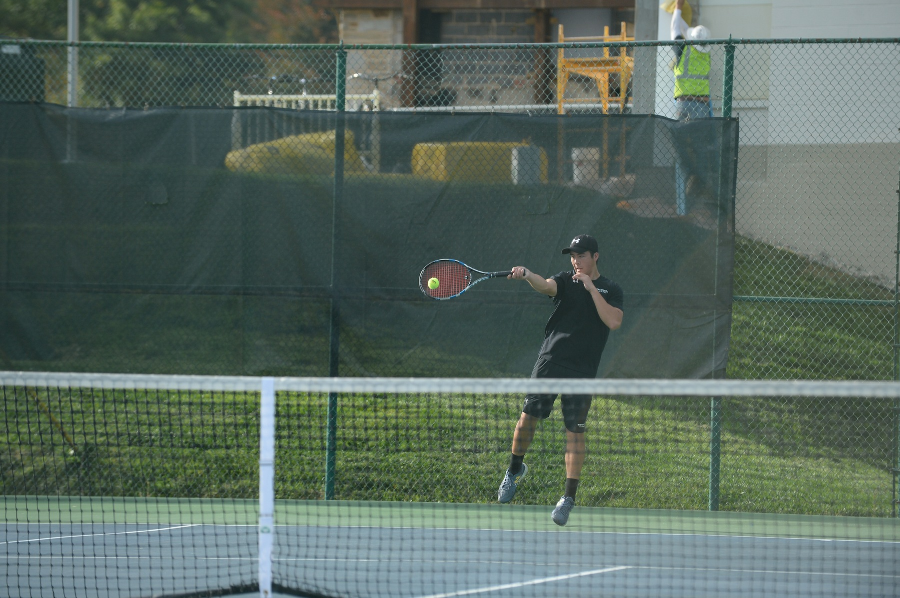 Sturniolo, Ryan Pick Up Straight-Set Victories in Mustangs' 7-2 Loss to Juniata