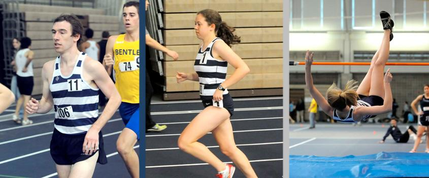 Chris Brown '12, Kate Warwick '12, Lily Parenteau '12 (Photo by Sportspix/Jan Volk)