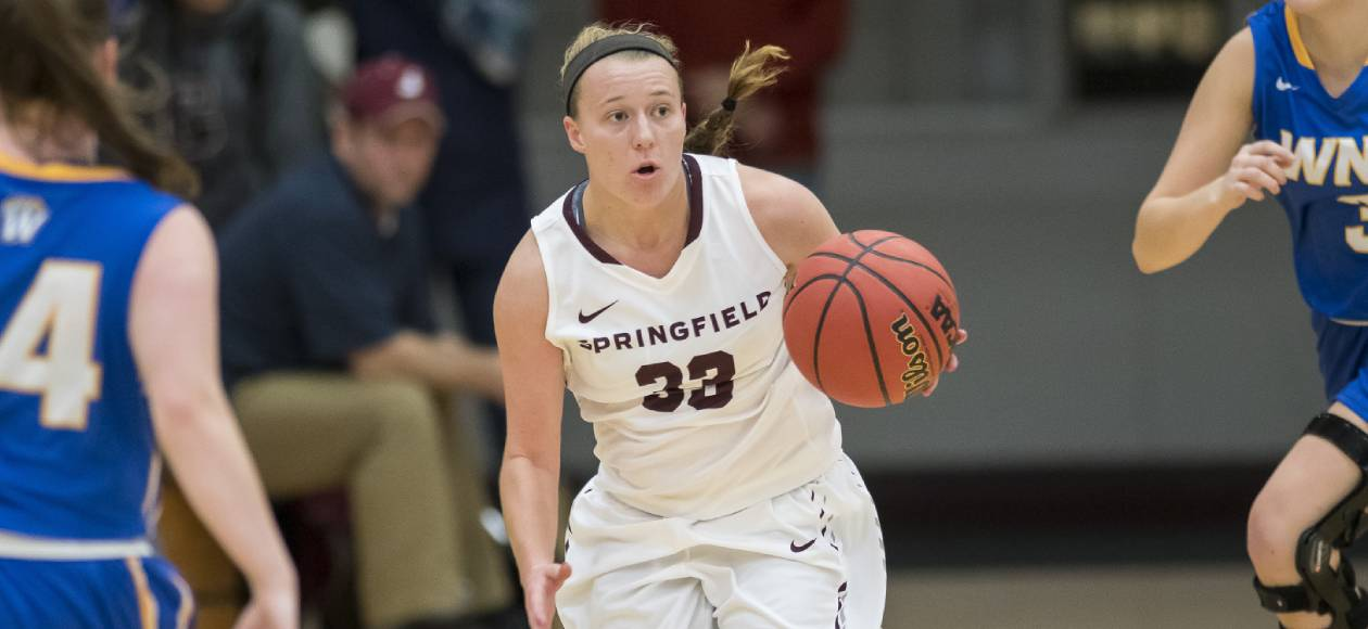 Women's Basketball Remains Unbeaten in NEWMAC Play; Defeats Wheaton, 77-54