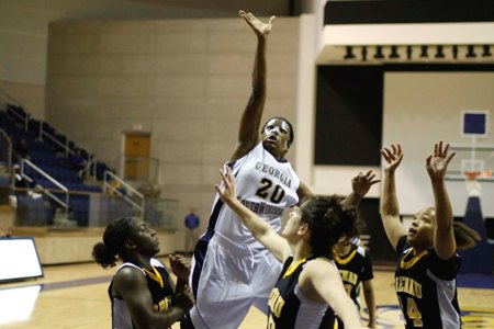Hot-shooting Brenau completes season sweep