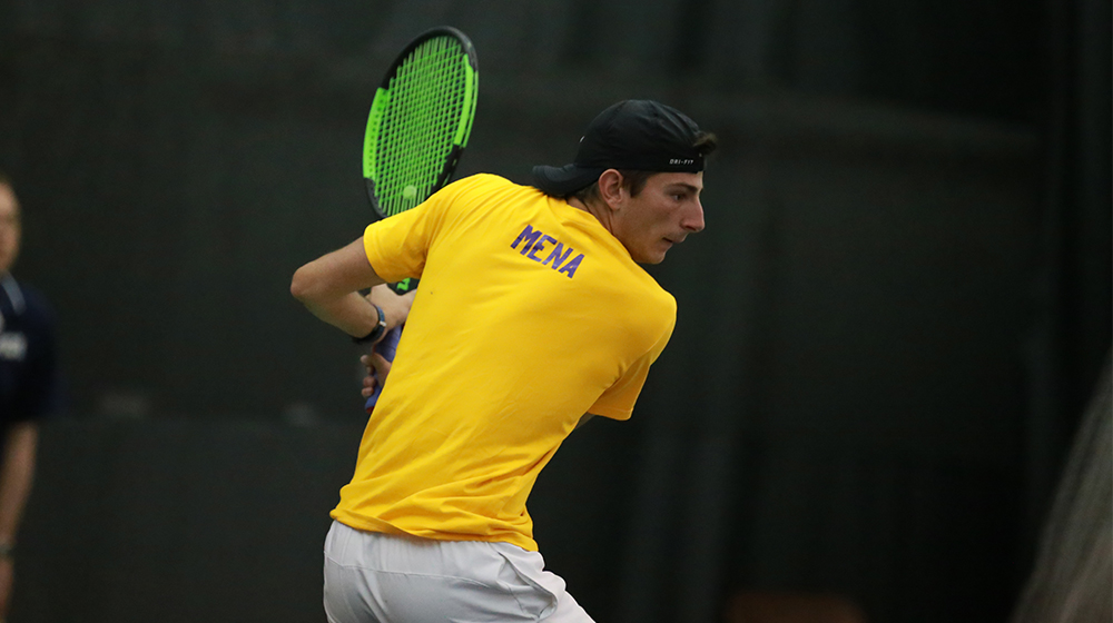 Mena secures first singles nod of the spring in loss at Drake