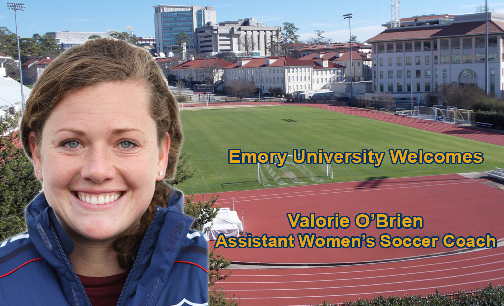 Emory Women's Soccer Names Valorie O'Brien Assistant Coach