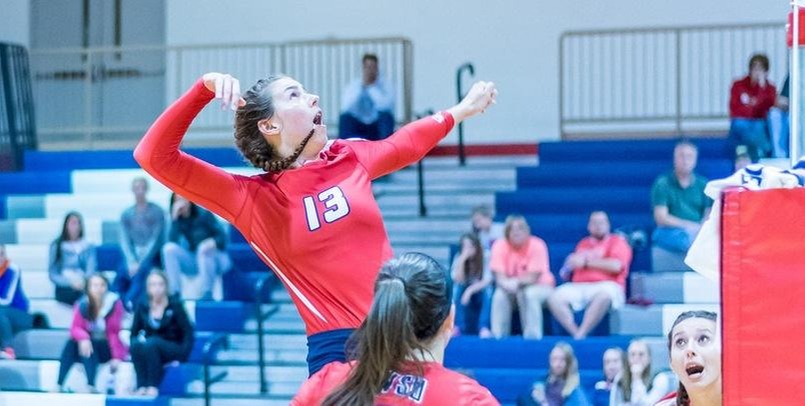 McKenzie Schuster posted a team high of 14 kills in tonight's victory over the Lakers