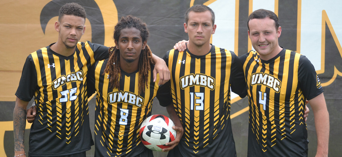 UMBC to Honor Four Seniors; Men's Soccer Closes Out Regular Season vs. Stony Brook on Wednesday Night