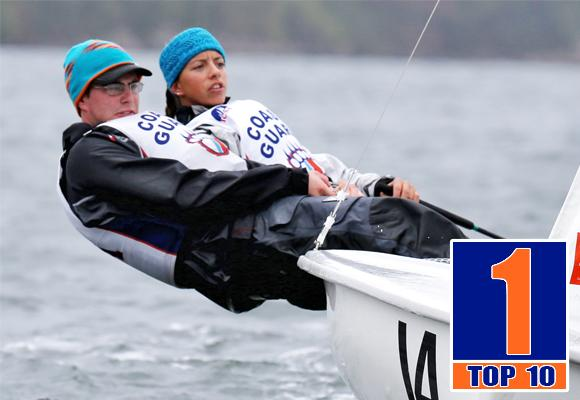 TOP MOMENT #1 – SAILING DOMINATES NATIONAL STAGE
