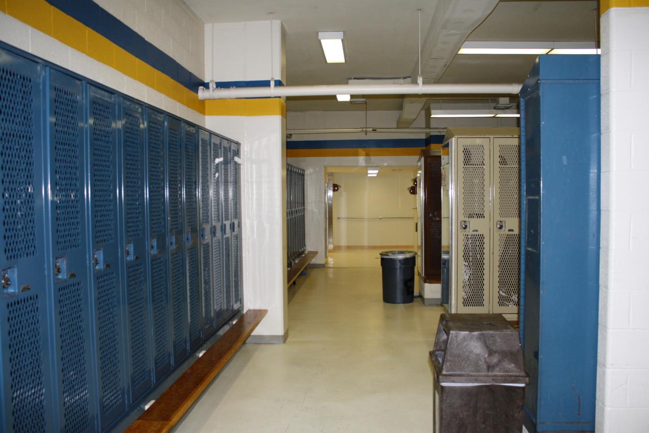 Old Baseball Locker Room