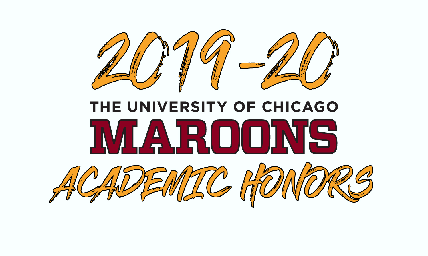 2019-20 Maroon Academic Honors