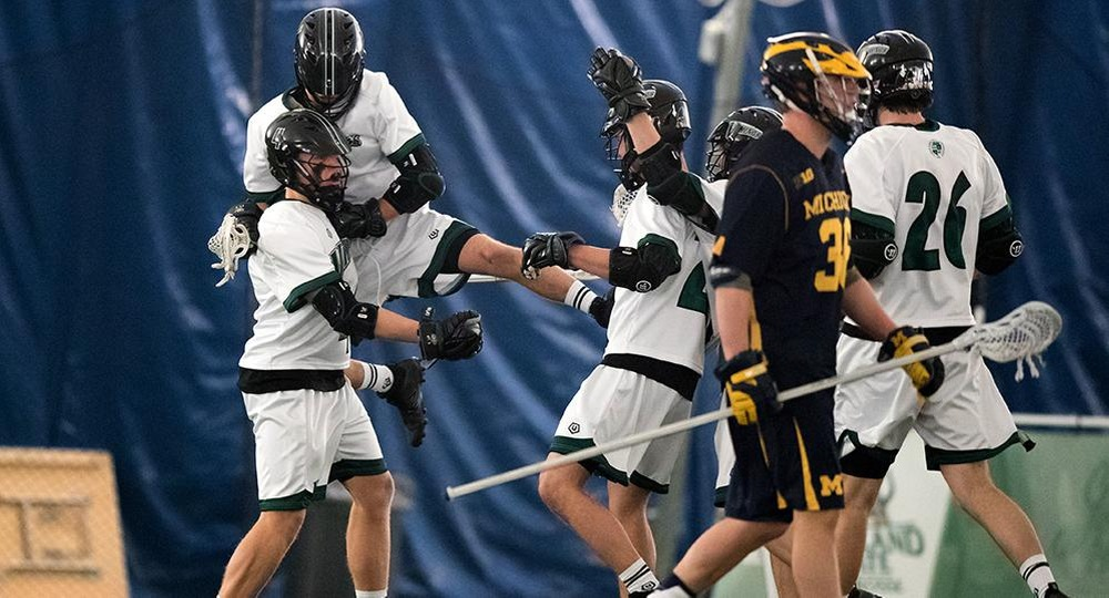 Vikings Drop Inaugural Contest to Michigan, 13-8