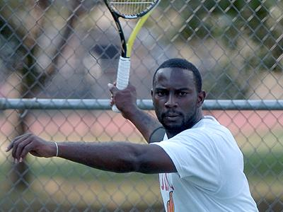 UDC Men's Tennis Team Scores ,7-0,  Shutout of Chowan