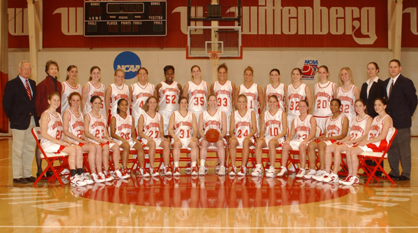 2004-05 Wittenberg Women's Basketball