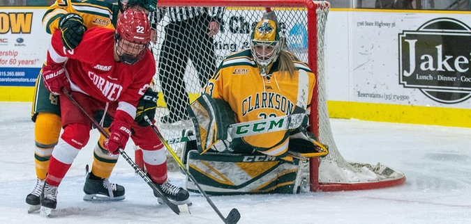 Clarkson and Cornell Battle to 1-1 Tie