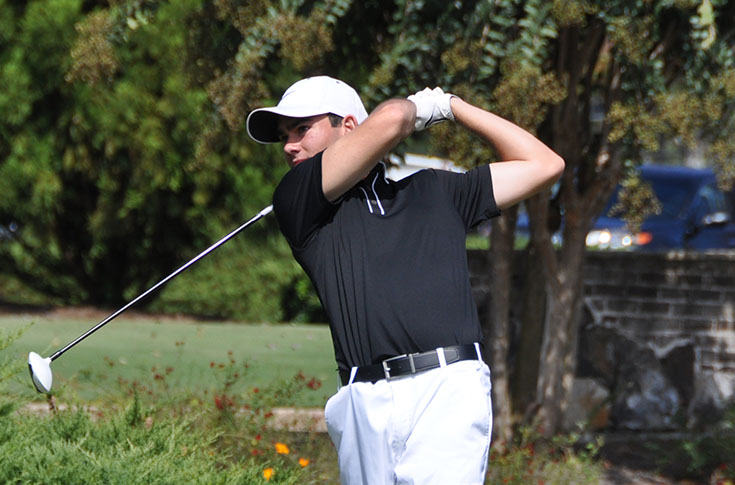 Golf: Panthers tied for fourth after two rounds at Gordin Classic