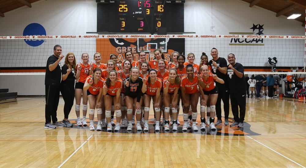 Women's volleyball earns ninth SLIAC regular season title of the decade