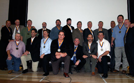 1981 state championship baseball team at 2009 Hall of Fame Induction Ceremony