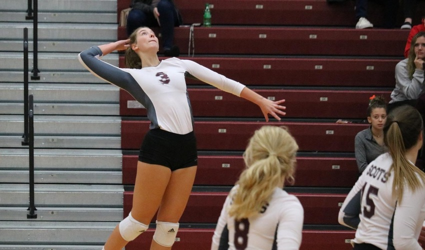 Volleyball Advances In Postseason