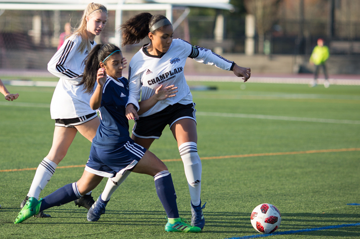 Saint-Lambert and Garneau to meet in rematch of 2017 CCAA Women's Soccer Final