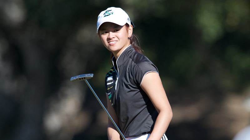 WOMEN'S GOLF OVERCOMES SLOW START IN FIRST ROUND OF COWGIRL CLASSIC