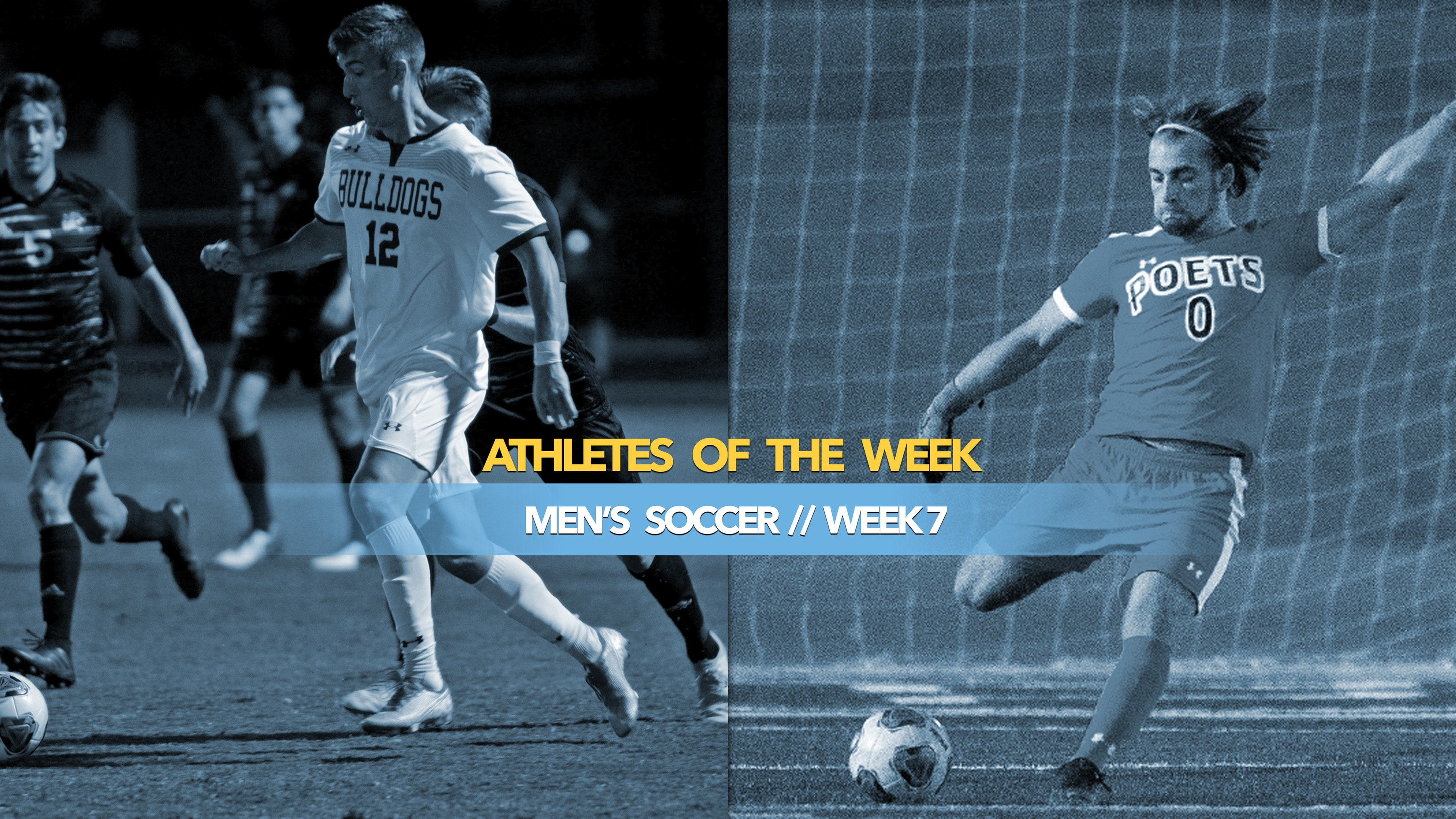 Men's Soccer Athletes of the Week: October 14, 2019