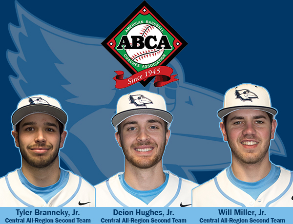 Branneky, Miller and Hughes Named To ABCA/Rawlings NCAA Division III All-Region Teams