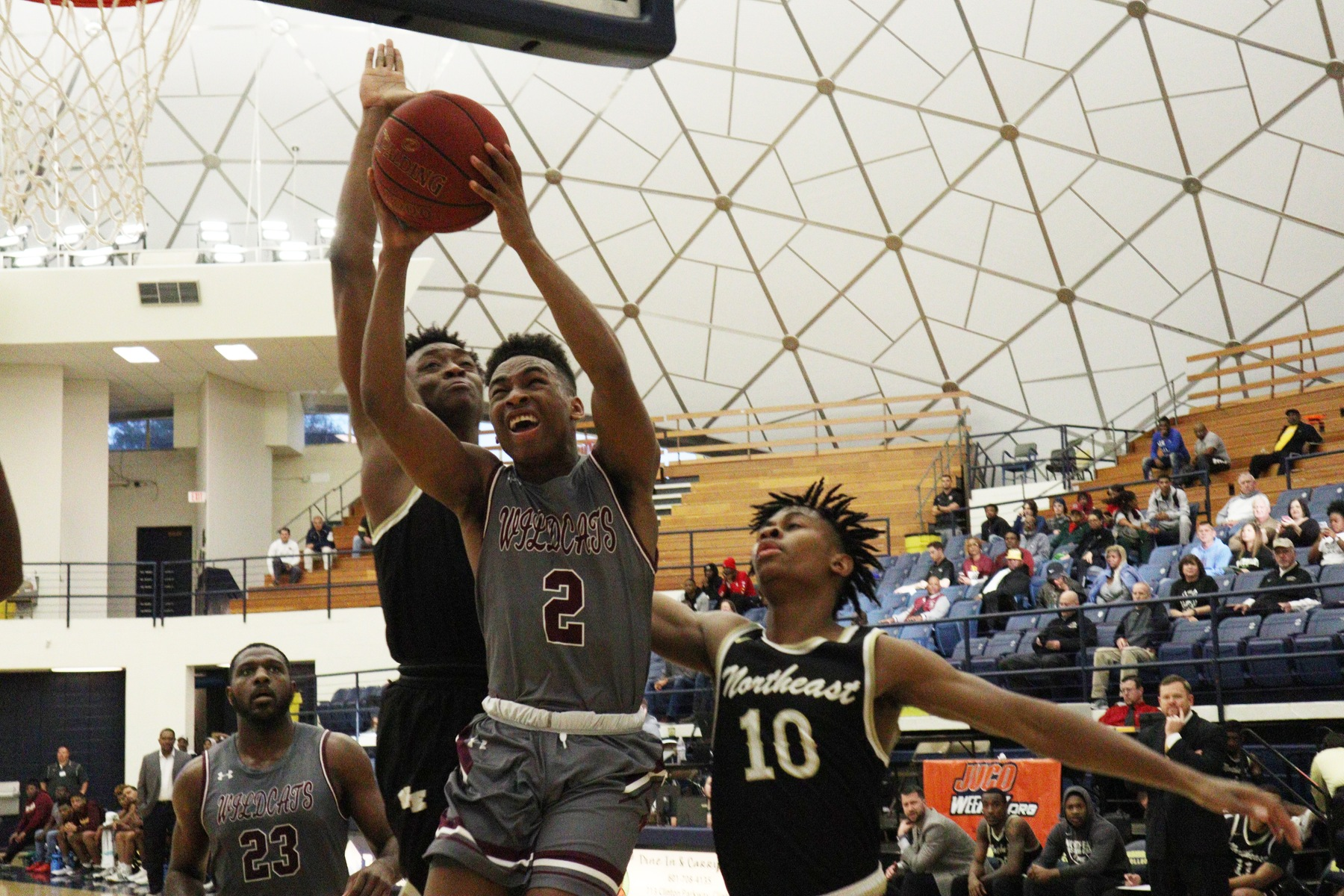 No. 15 Pearl River had a return to form Wednesday, March 6, 2019, topping Northeast 78-43 in the first round of the Region XXIII Tournament, hosted at Mississippi College in Clinton, Miss. (PATRICK OCHS/PRCC ATHLETICS)