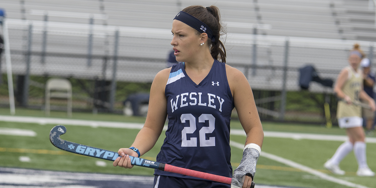 Field Hockey records three defensive saves in close loss with Eastern