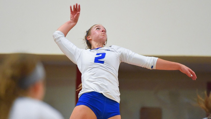 Volleyball Falls in Five Sets at Brown on Tuesday Night
