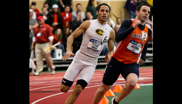 Thurgood Dennis Named WIAC Track Performer of the Meet