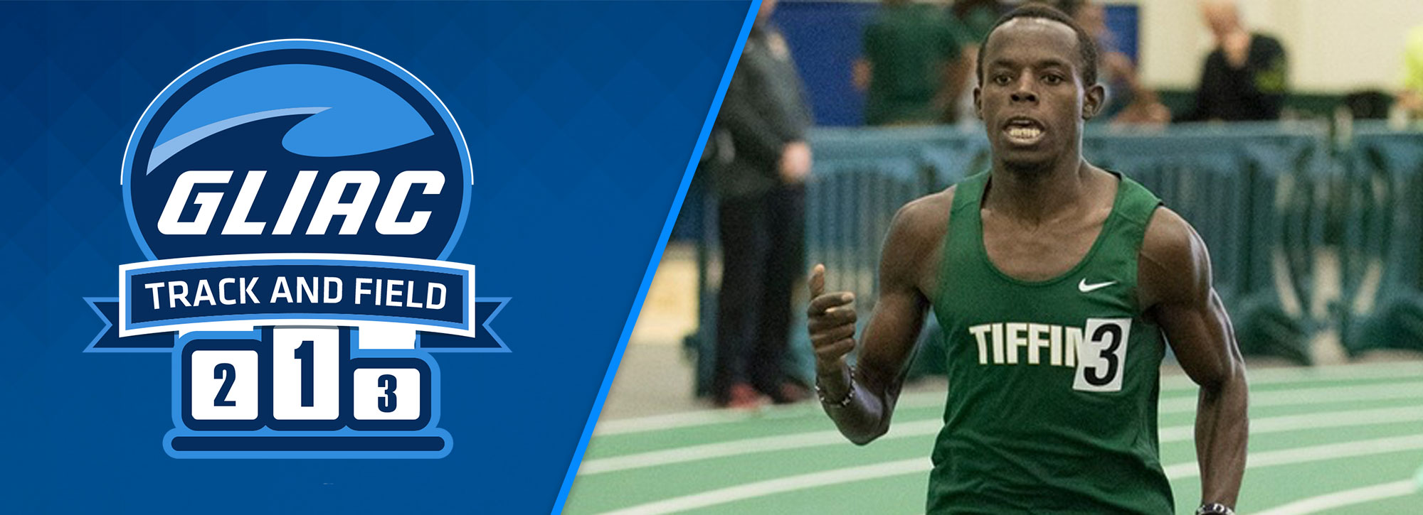 Tiffin's Ngandu Named USTFCCCA National Track Athlete of the Week