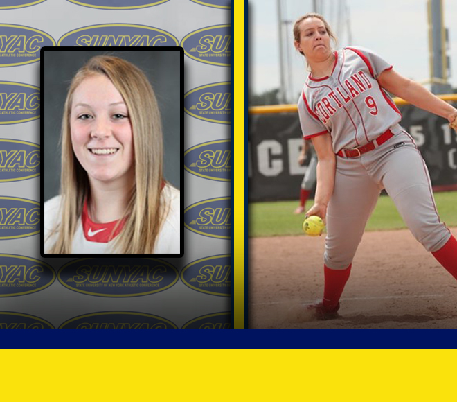 Van Dorn, Groat earn second Softball Pitcher and Athlete of the Week honors this season