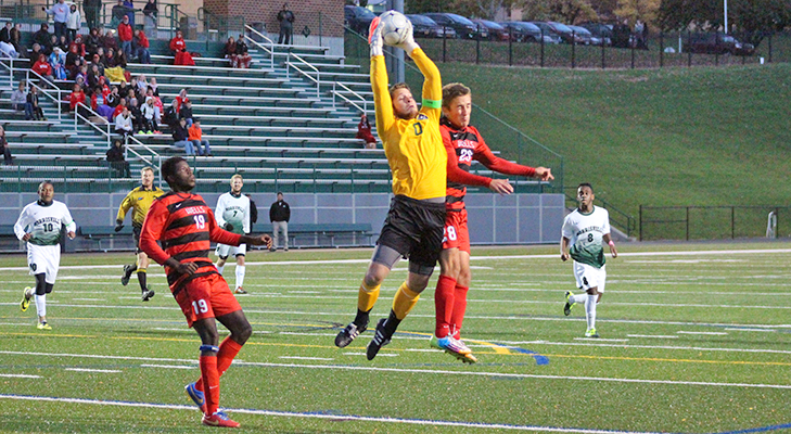 Men's Soccer Drops 1-0 Contest At Morrisville State